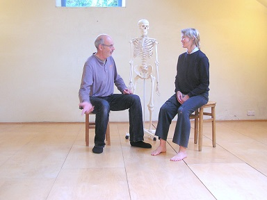 Andy and Eeva - somatic workshops in Penpynfarch Studio