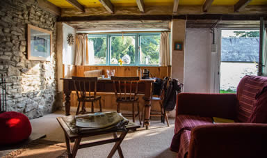 Internal view of The Mill cottage - stay at our rural retreat